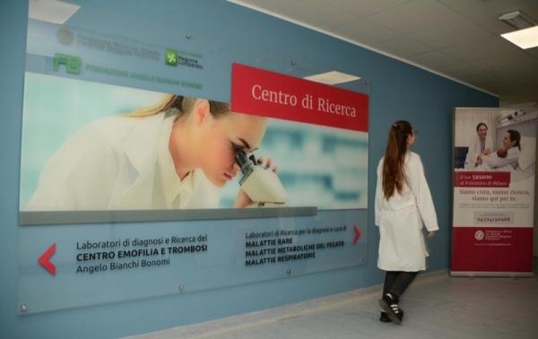 """Centro di riferimento per l'emofilia e la trombosi """"Angelo Bianchi Bonomi"""