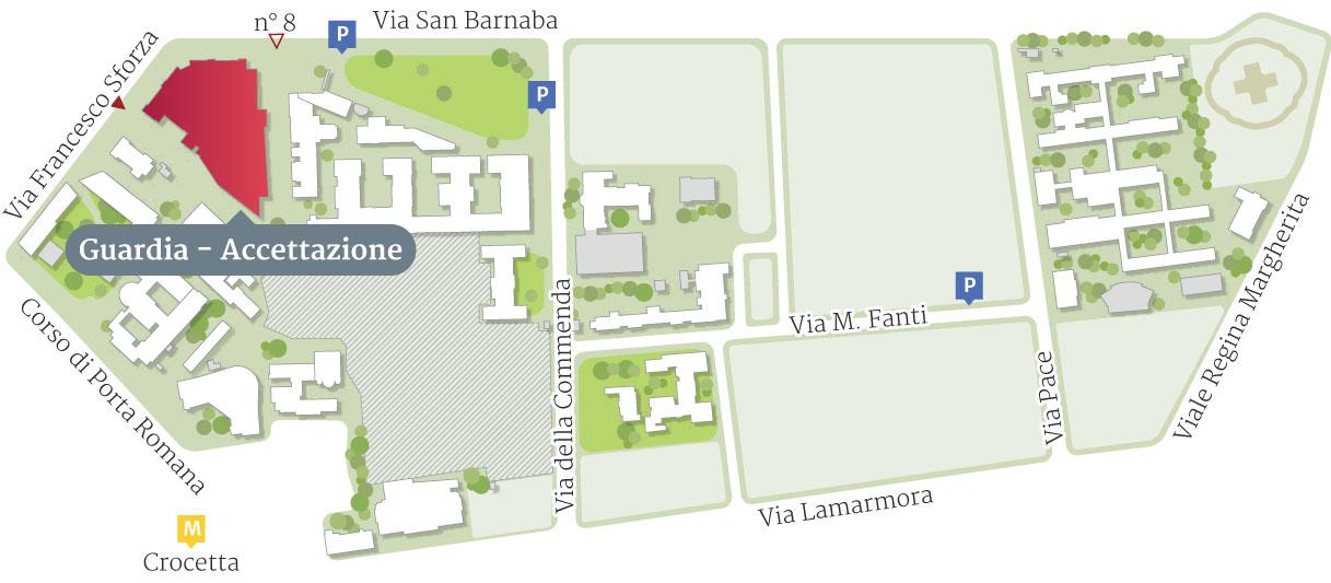 Mappa Reparto